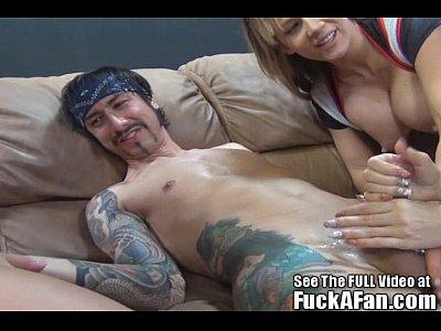 Big Tit Babe Courtney Cumz FUCK A FAN!!!