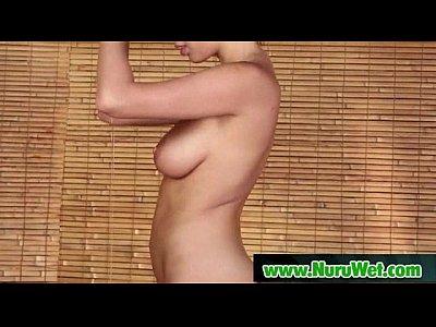 Lucky Client gets a Full Service NURU Massage 09