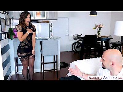 Kelsi Monroe's big ass bounces from a big dick fuck - Naughty America