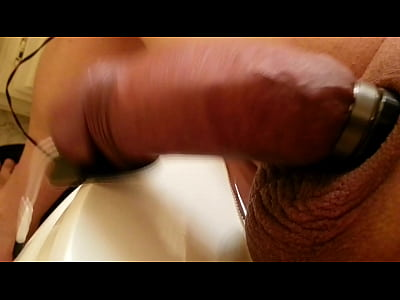 Can't sleep need to electrocute the cock to make it cum