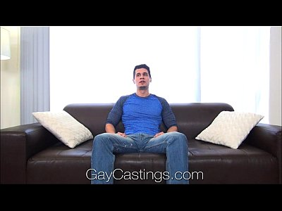 GayCastings Lean cowboy with great bod sucks on cam