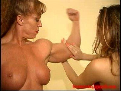 Sheila Burgess Muscle Domination