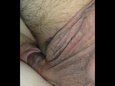 Friend fucking my wife and he cums in her!