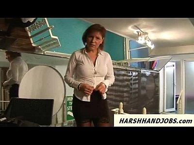 Voyeur pervert at pool gets caught and gets handjob punishment