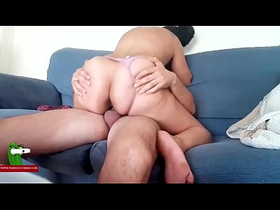 A gypsy, a pink thong and a fucked on the couch ADR0162