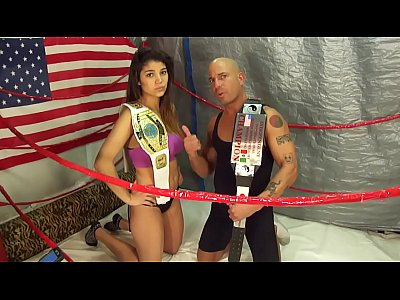 UNDERGROUND INTERGENDER WRESTLING PROMOTION Maria vs Man Mixed Wrestling