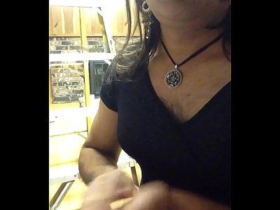 Sexy Indian crossdresser Jessica sucks a cock