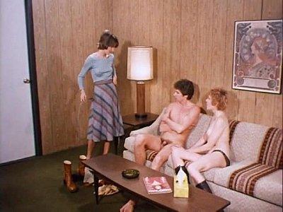 Teenage twins (1976) - Blowjobs & Cumshots Cut