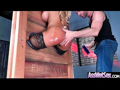 Oiled Girl (Bridgette B) With Big Round Ass Like Anal Sex clip-11