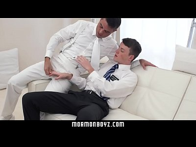 MormonBoyz - Ginger bottom passionately fucked raw by older priest