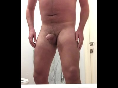 Young guy solo masturbation cumshot - This video is of me