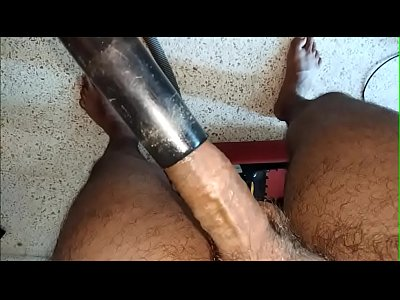 vacuum cleaner sucking desi dick