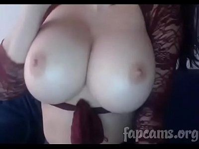 awesome tits from this webcam girl
