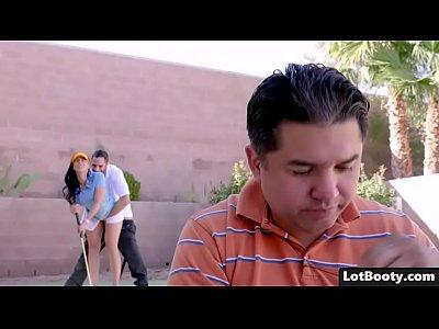 Big ass and busty Rachel Starr fuck her golf instructor
