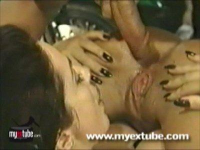 Mega cumshot orgy