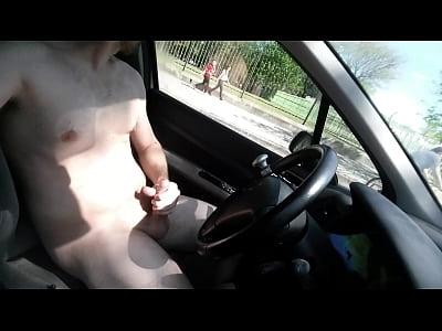 Paja en el auto - Jerking in car
