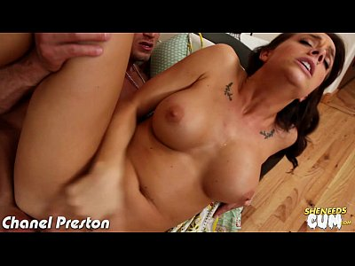 Big titted Chanel Preston gets ass jizzed