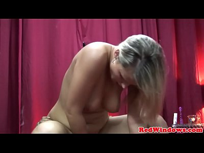 Amsterdam hooker doggystyled after blowjob