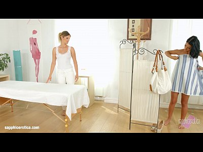 Lesbian lovemaking by Mira Sunset and Vivien Bell on Sapphic Erotica