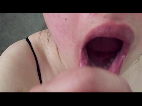 Asian MILF - Cum Swallowing Jay's Load