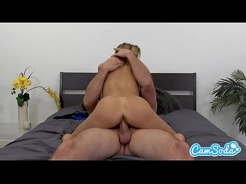 Alexis Fawx big tits hot sexy MILF fucking young ripped stud.