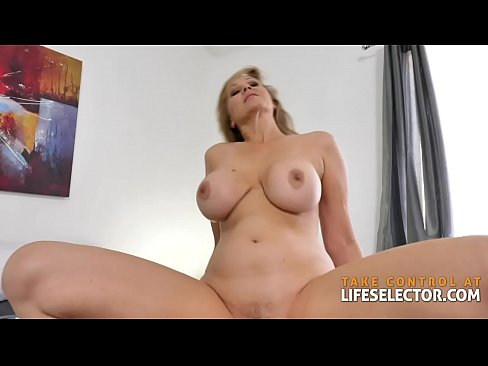 A hot one-on-one session with Julia Ann POV