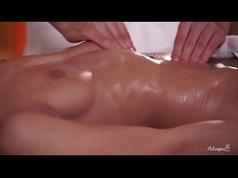 RELAXXXED - Czech brunette Lexi Dona enjoys oiled up massage turned hot fuck