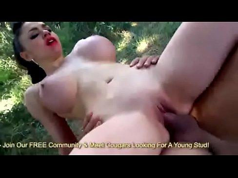 Euro MILF Alexandra Sivroskya Banging Dick Down On All Fours