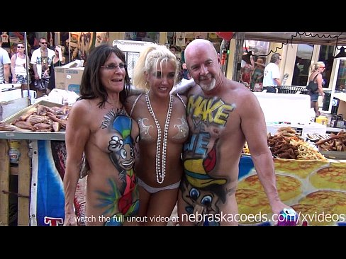 hot milf exhibitionists on the streets of key west