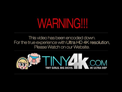 Tiny4K Tiny blonde teen's pussy pounded by big dick in 4K