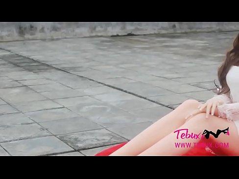 Teen brunette sex doll babe looks real