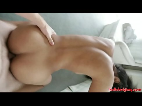 Hello LadyBoy - Cute Thai ladyboy cums with white stranger ...