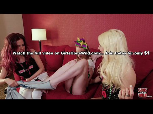 GIRLS GONE WILD - Young Katy Gets Rocked by Lesbian Amateur Kylie