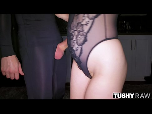 TUSHYRAW Blonde Nympho Only Wants Anal