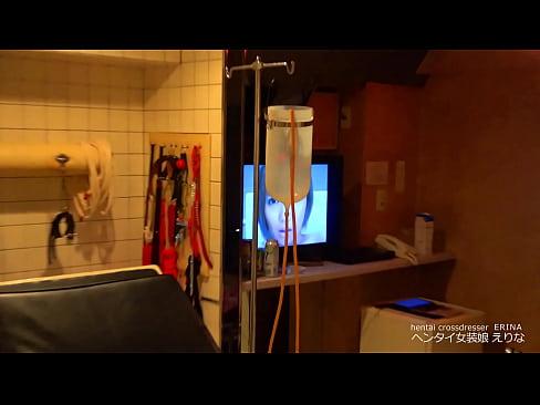【女装】診察台でおしっこ&牛乳浣腸 噴水オナニー|えりな【変態】 - XVIDEOS.COM