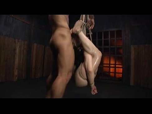 Bondage play of the Japanese woman