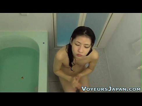 Hairy pussy rubbing asian