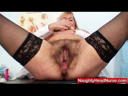 Well-endowed amateur-mom Irma got extremly shaggy vagina
