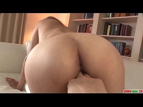 Ruru Kashiwagi shakes the big tits in scenes of hard sex - More at Japanesemamas com