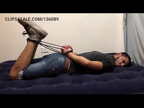 Pedro Tickled (Hogtied and Spread Eagled)