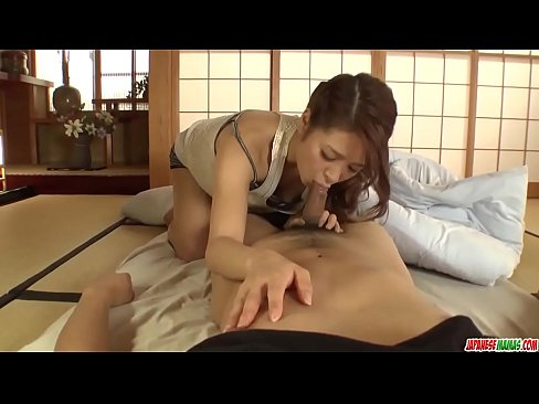 Nana Ninomiya amazing sex and passionate blowjob on cam - More at Japanesemamas com
