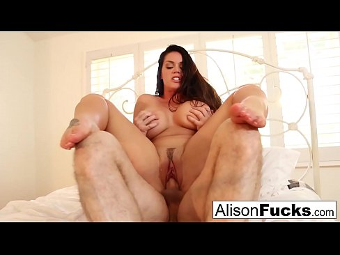 Alison Tyler gets hr pussy stuffed with a big cock