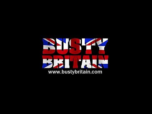 Busty British Hairy Milf Dildo Fucking