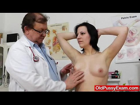The medic sticks interesting things inside Lydes fucking-hot asshole