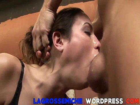 Try not to fap ! deepthroat level
