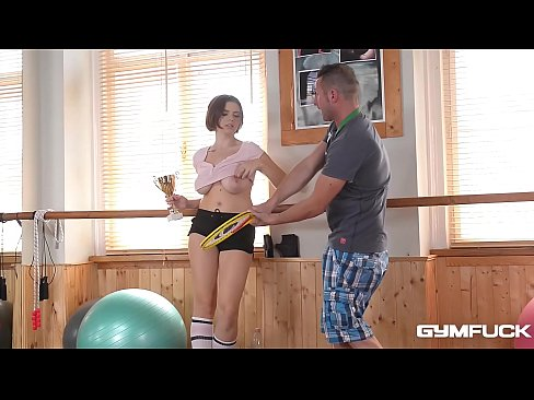 Busty Gym Brat Marina Visconti gets some Big Dick Sexercise