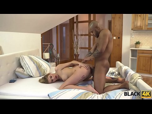 BLACK4K. BBC of a stranger makes slutty wife excited and horny