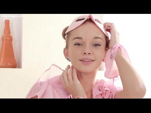 Milena Angel in pink