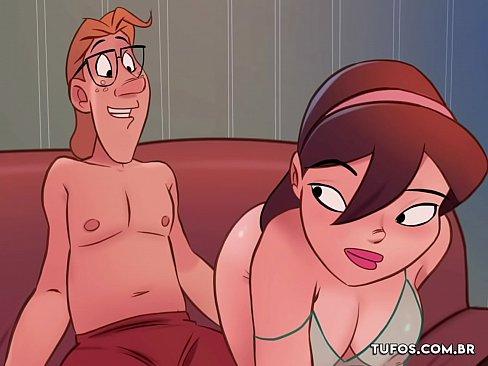 Assistindo filme pornô com a irmã - Os Sacanas Filminho