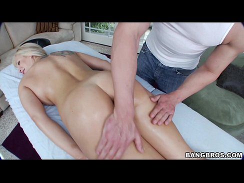 Blonde Pornstar Massage Relaxation